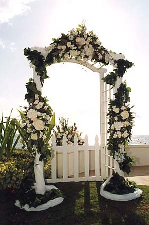 DIY Wedding Preparation : How to Decorate Wedding Arches - YouTube